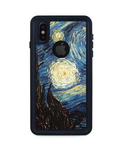 van Gogh - The Starry Night iPhone XS Waterproof Case
