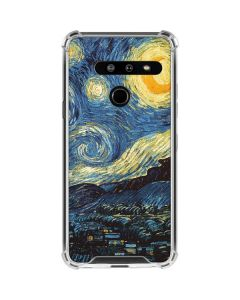 van Gogh - The Starry Night LG G8 ThinQ Clear Case