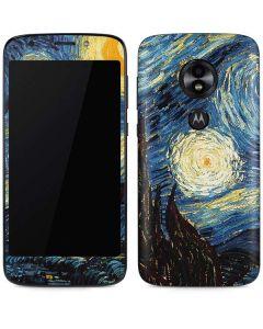 van Gogh - The Starry Night Moto E5 Play Skin