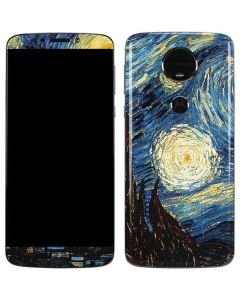 van Gogh - The Starry Night Moto E5 Plus Skin