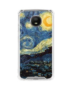 van Gogh - The Starry Night Moto G5S Plus Clear Case