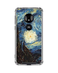van Gogh - The Starry Night Moto G7 Play Clear Case