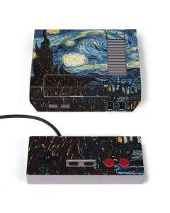van Gogh - The Starry Night NES Classic Edition Skin