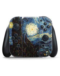 van Gogh - The Starry Night Nintendo Switch Joy Con Controller Skin