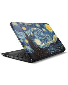 van Gogh - The Starry Night HP Notebook Skin
