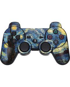 van Gogh - The Starry Night PS3 Dual Shock wireless controller Skin