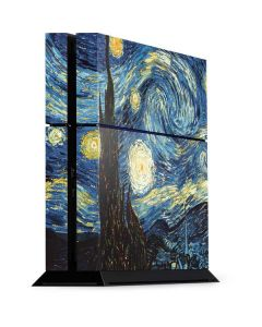 van Gogh - The Starry Night PS4 Console Skin