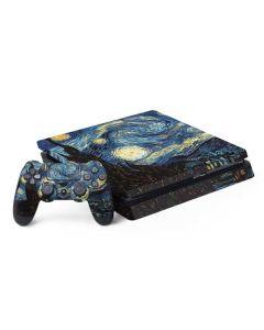 van Gogh - The Starry Night PS4 Slim Bundle Skin