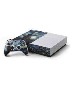 van Gogh - The Starry Night Xbox One S All-Digital Edition Bundle Skin