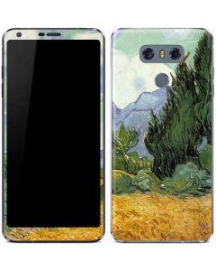 van Gogh - Wheatfield with Cypresses LG G6 Skin