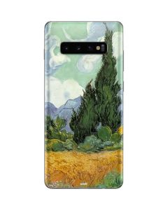 van Gogh - Wheatfield with Cypresses Galaxy S10 Plus Skin