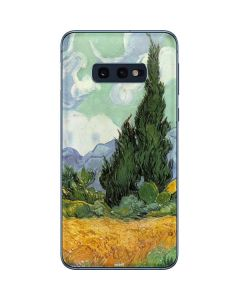 van Gogh - Wheatfield with Cypresses Galaxy S10e Skin