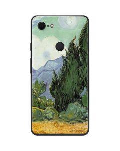 van Gogh - Wheatfield with Cypresses Google Pixel 3 XL Skin