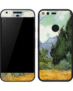 van Gogh - Wheatfield with Cypresses Google Pixel Skin