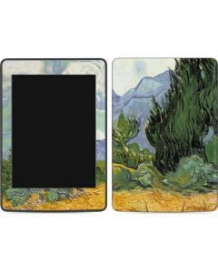 van Gogh - Wheatfield with Cypresses Amazon Kindle Skin