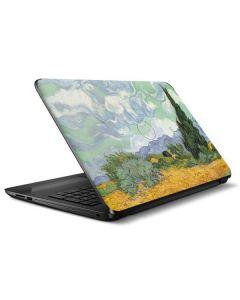 van Gogh - Wheatfield with Cypresses HP Notebook Skin