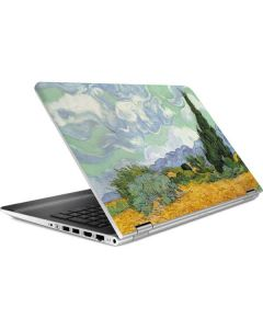 van Gogh - Wheatfield with Cypresses HP Pavilion Skin