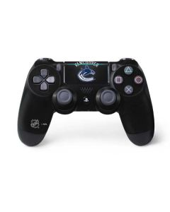 Vancouver Canucks Black Background PS4 Pro/Slim Controller Skin