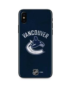 Vancouver Canucks Distressed iPhone X Skin