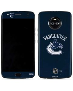 Vancouver Canucks Distressed Moto X4 Skin