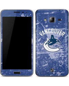Vancouver Canucks Frozen Galaxy J3 Skin