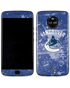 Vancouver Canucks Frozen Moto X4 Skin