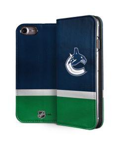 Vancouver Canucks Jersey iPhone 8 Folio Case