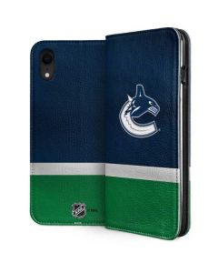 Vancouver Canucks Jersey iPhone XR Folio Case