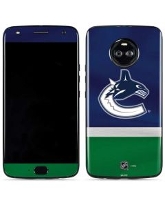 Vancouver Canucks Jersey Moto X4 Skin
