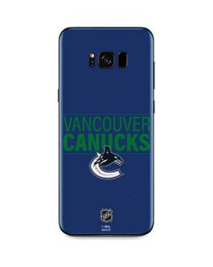 Vancouver Canucks Lineup Galaxy S8 Skin