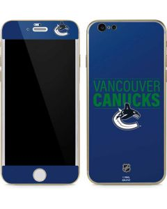 Vancouver Canucks Lineup iPhone 6/6s Skin