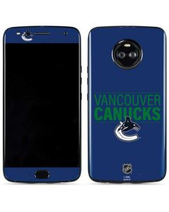 Vancouver Canucks Lineup Moto X4 Skin