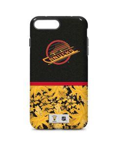Vancouver Canucks Retro Tropical Print iPhone 8 Plus Pro Case