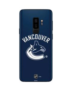 Vancouver Canucks Solid Background Galaxy S9 Plus Skin