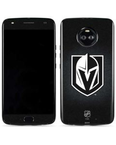 Vegas Golden Knights Black Background Moto X4 Skin