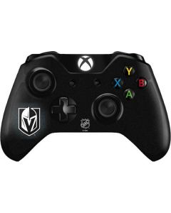 Vegas Golden Knights Black Background Xbox One Controller Skin
