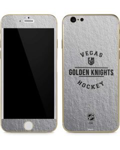 Vegas Golden Knights Black Text iPhone 6/6s Skin