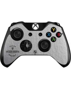 Vegas Golden Knights Black Text Xbox One Controller Skin