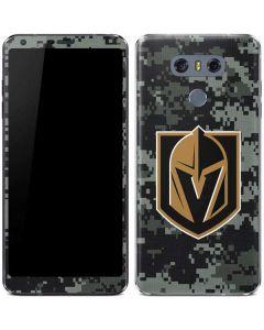 Vegas Golden Knights Camo LG G6 Skin