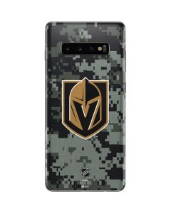 Vegas Golden Knights Camo Galaxy S10 Plus Skin