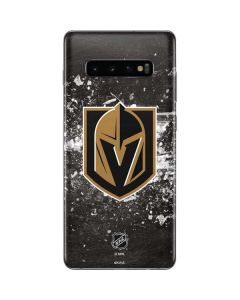 Vegas Golden Knights Frozen Galaxy S10 Plus Skin