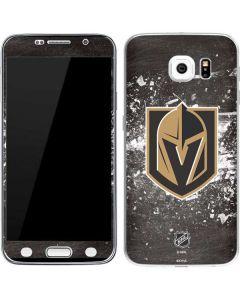Vegas Golden Knights Frozen Galaxy S6 Skin