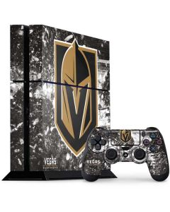 Vegas Golden Knights Frozen PS4 Console and Controller Bundle Skin