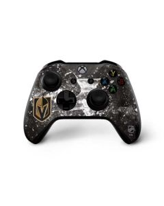 Vegas Golden Knights Frozen Xbox One X Controller Skin