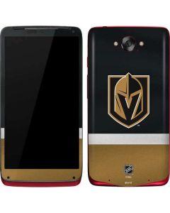 Vegas Golden Knights Jersey Motorola Droid Skin