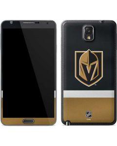 Vegas Golden Knights Jersey Galaxy Note 3 Skin