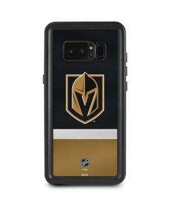 Vegas Golden Knights Jersey Galaxy Note 8 Waterproof Case