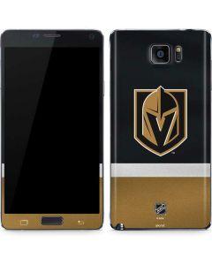 Vegas Golden Knights Jersey Galaxy Note5 Skin