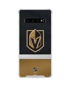 Vegas Golden Knights Jersey Galaxy S10 Clear Case