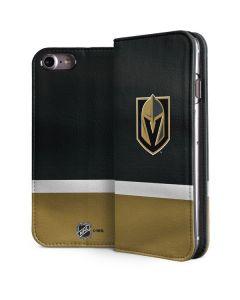 Vegas Golden Knights Jersey iPhone 8 Folio Case